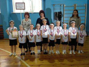 Участие в конкурсе ОЛИМПИОНИК 2018 среди детских садов Гагаринского района